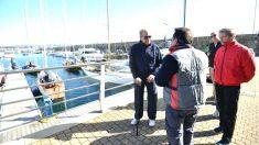 El Rey Juan Carlos poco antes de salir a navegar.