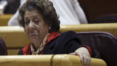 Rita Barberá, ex alcaldesa de valencia, en el Senado. (EFE)