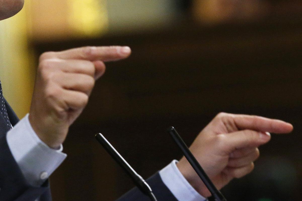 Albert Rivera durante su discurso este miércoles. (Foto: EFE)