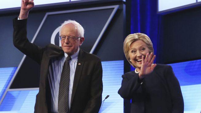 Bernie-Sanders-Hillary-Clinton