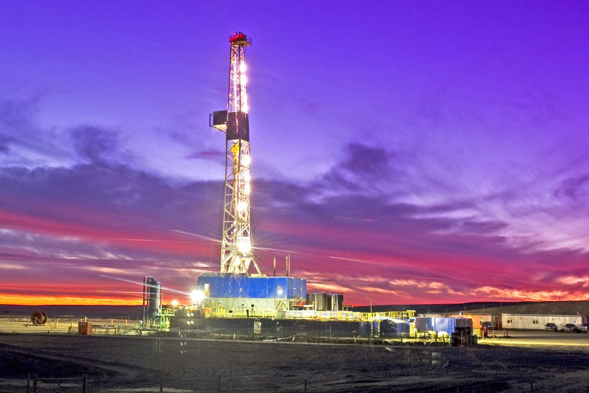 Plataforma de extracción de Shale Gas. (Foto: Getty)