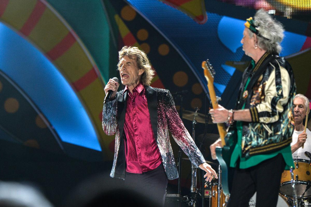 Un momento del concierto de los Rolling Stones en La Habana (Foto: AFP).