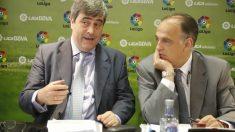 Miguel Cardenal tiene en Javier Tebas a su gran seguidor en Twitter.