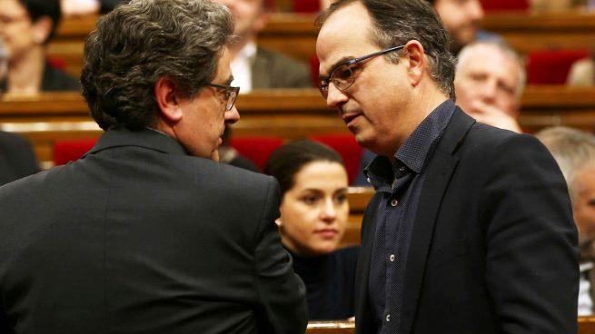 Turull acusa de «acto de cobardía» la petición del Gobierno de sanción penal a Forcadell