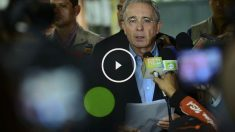 Álvaro Uribe, ex presidente de Colombia. (Foto: AFP)