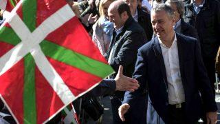 Iñigo Urkullu en la celebración del Aberri Eguna (Foto: Efe).