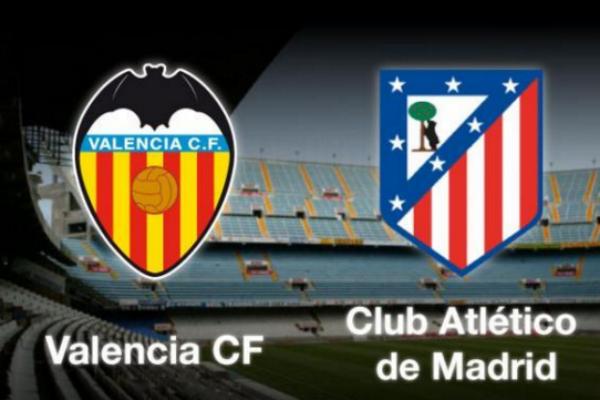 El Valencia recibe al Atlético en Mestalla.