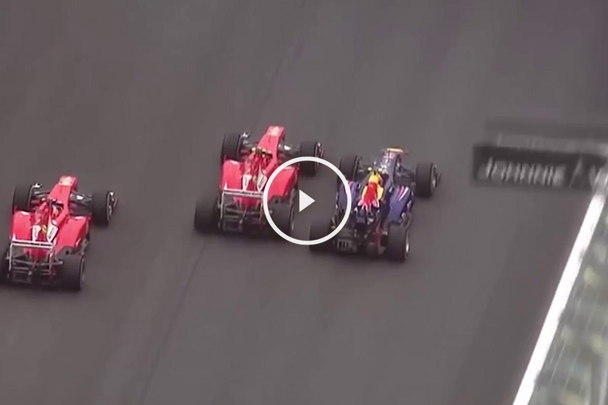 Mejores adelantamientos de Fernando Alonso