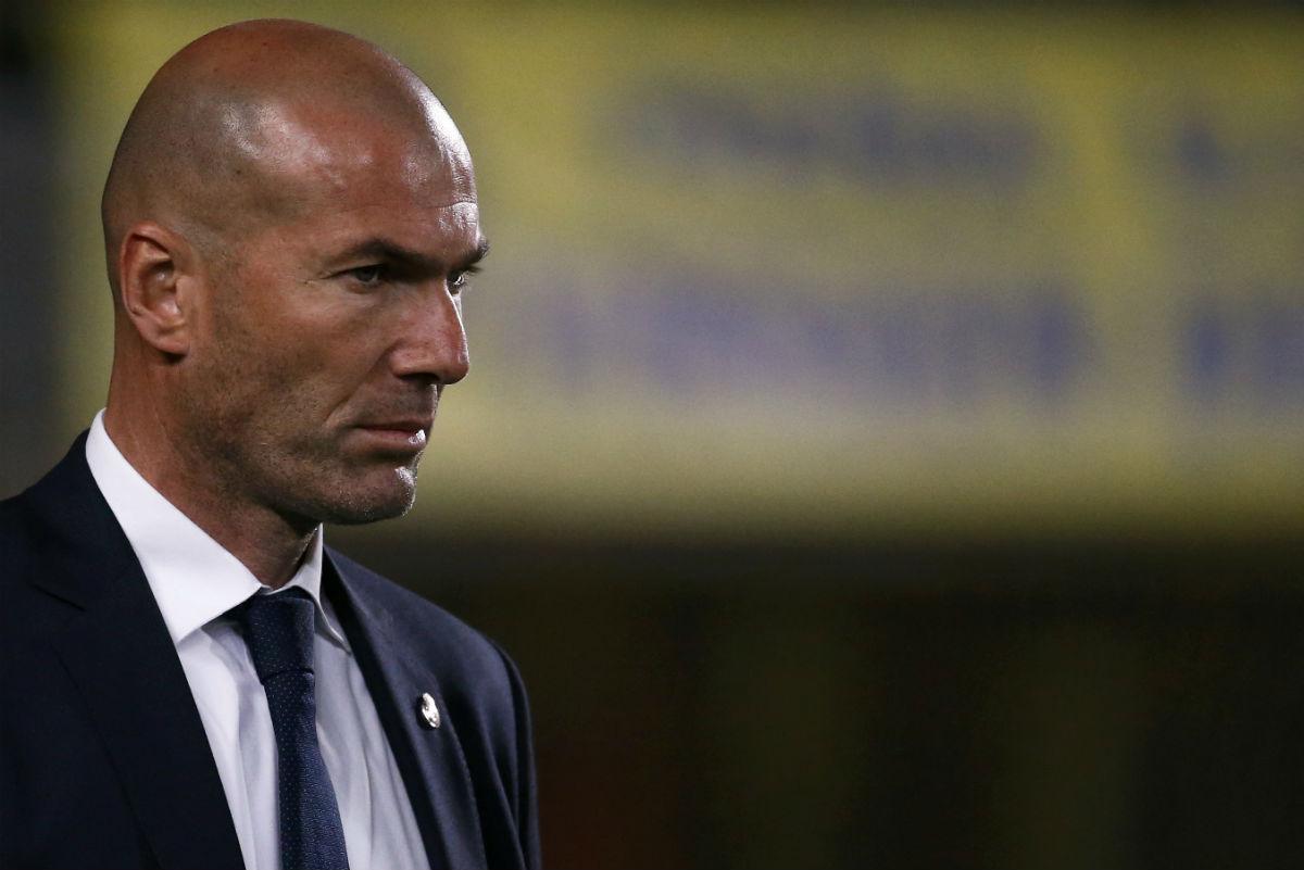 Zidane, enfadado por la imagen del Real Madrid en Las Palmas. (Reuters)