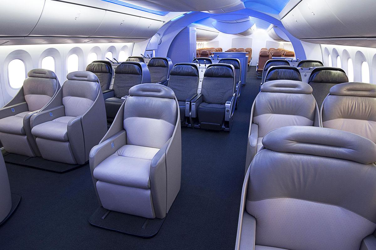 As es el boeing 787 dreamliner la nueva joya de air europa for Interior 787 aeromexico