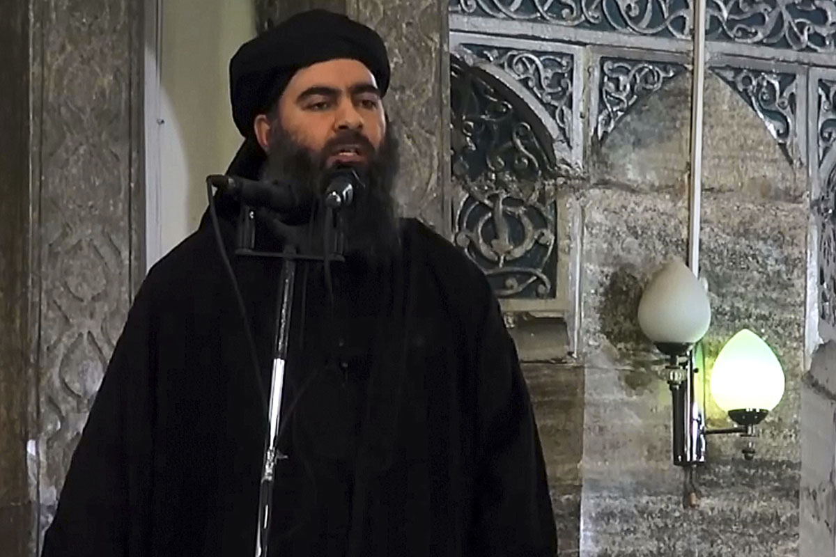 Abu Bakr al Baghdadi (Foto: Getty)