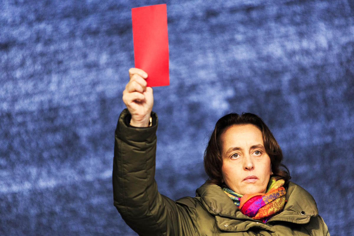 Beatrix von Storch, número dos del partido ultraderechista AfD (Foto: Getty)