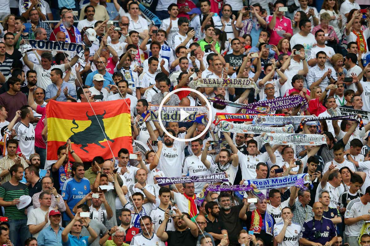 La afición del Real Madrid llenará el Bernabéu. (Getty)