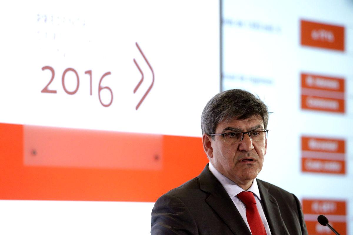 El consejero delegado de Banco Santander, José Antonio Álvarez. (Foto: EFE)
