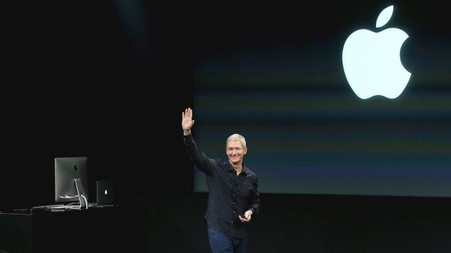El CEO de Apple, Tim Cook (Foto: GETTY).