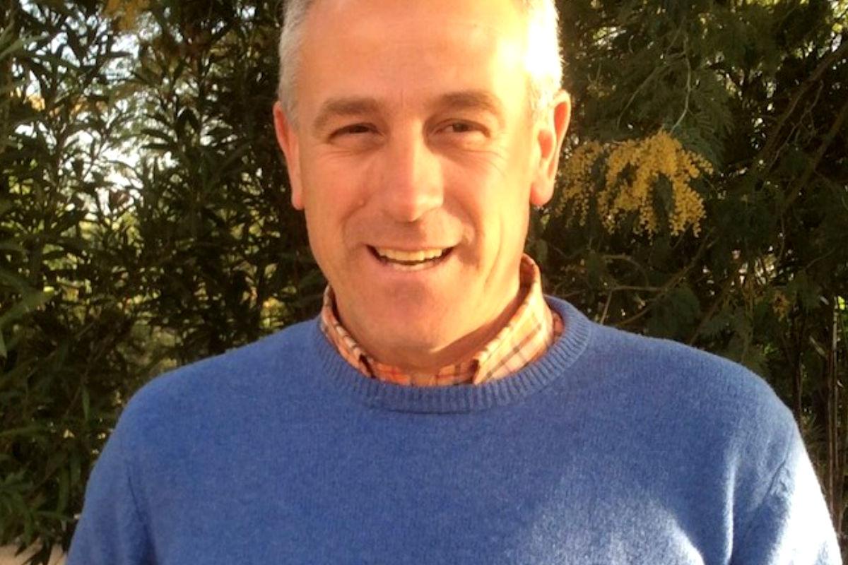 Imagen del alcalde de Hoyo.