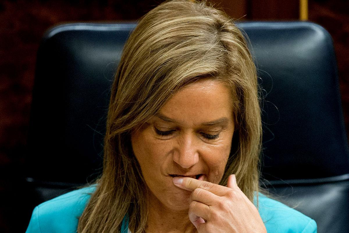 Imagen de la ex ministra y ex diputada Ana Mato. (Getty)