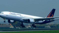 Imagen de un avión de la compañía Brussels Airlines.