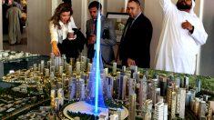 Imagen del edificio que construirá Calatrava en Dubái. (Getty)