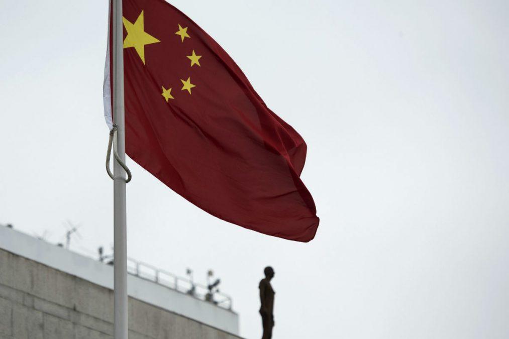 Imagen de la bandera de China. (Getty)