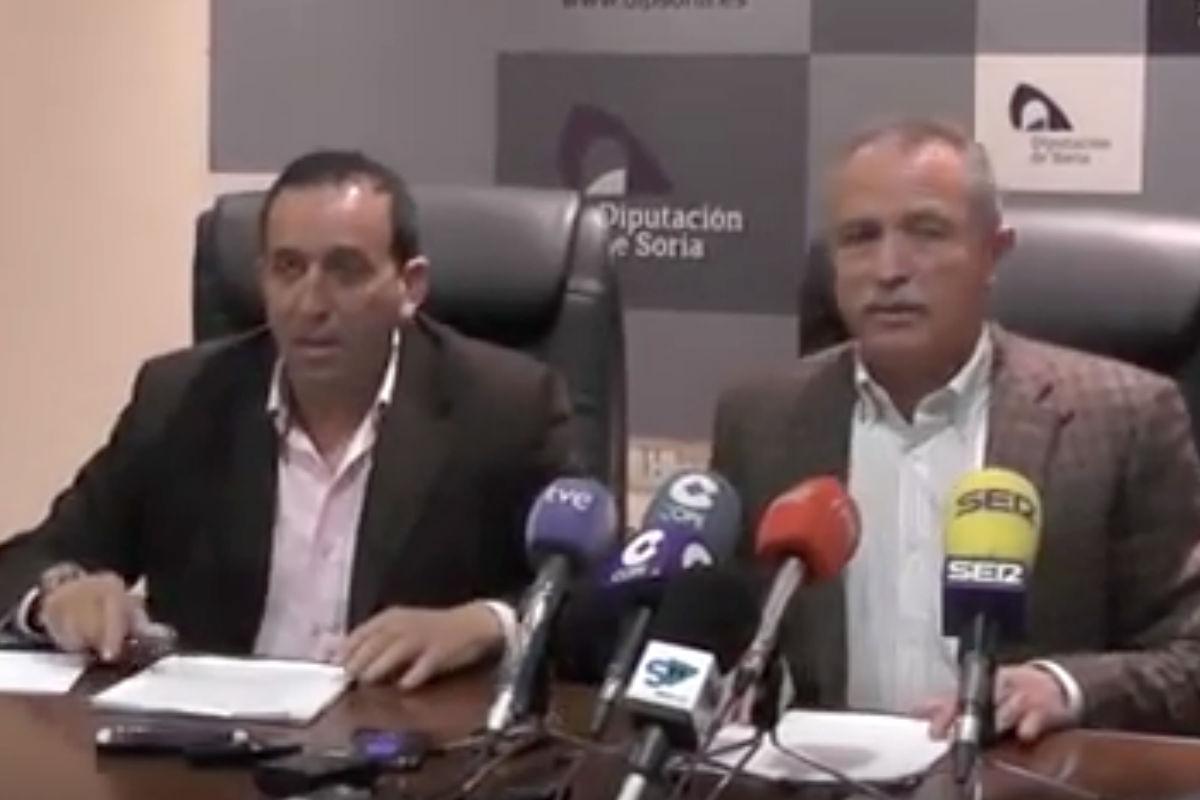Los dos políticos expulsados de Ciudadanos, Raúl Lozano y  José Antonio de Miguel.