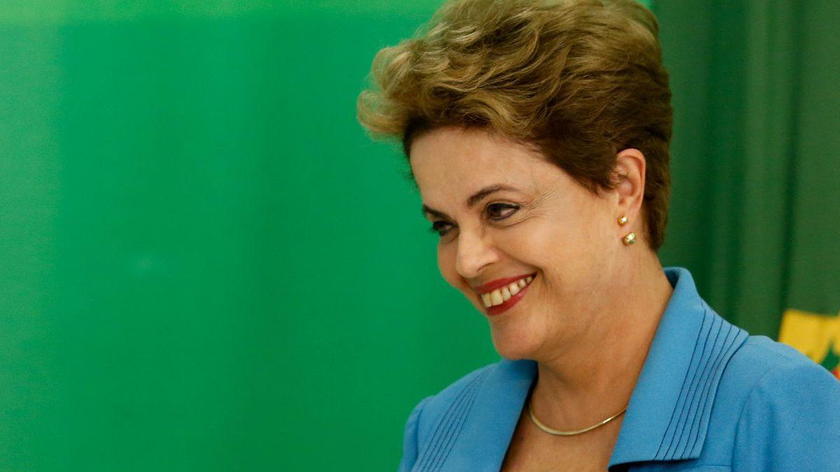 La presidenta de Brasil, Dilma Rousseff. (Getty)