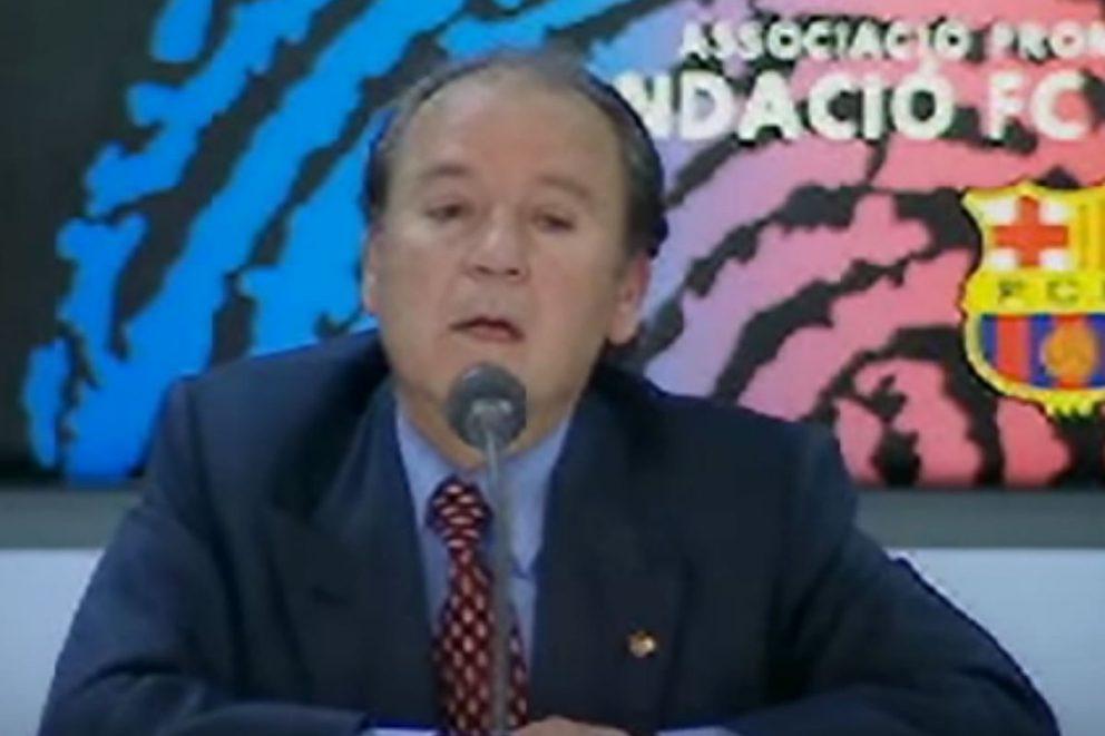 Imagen del ex presidente del FC Barcelona, José Luis Núñez.