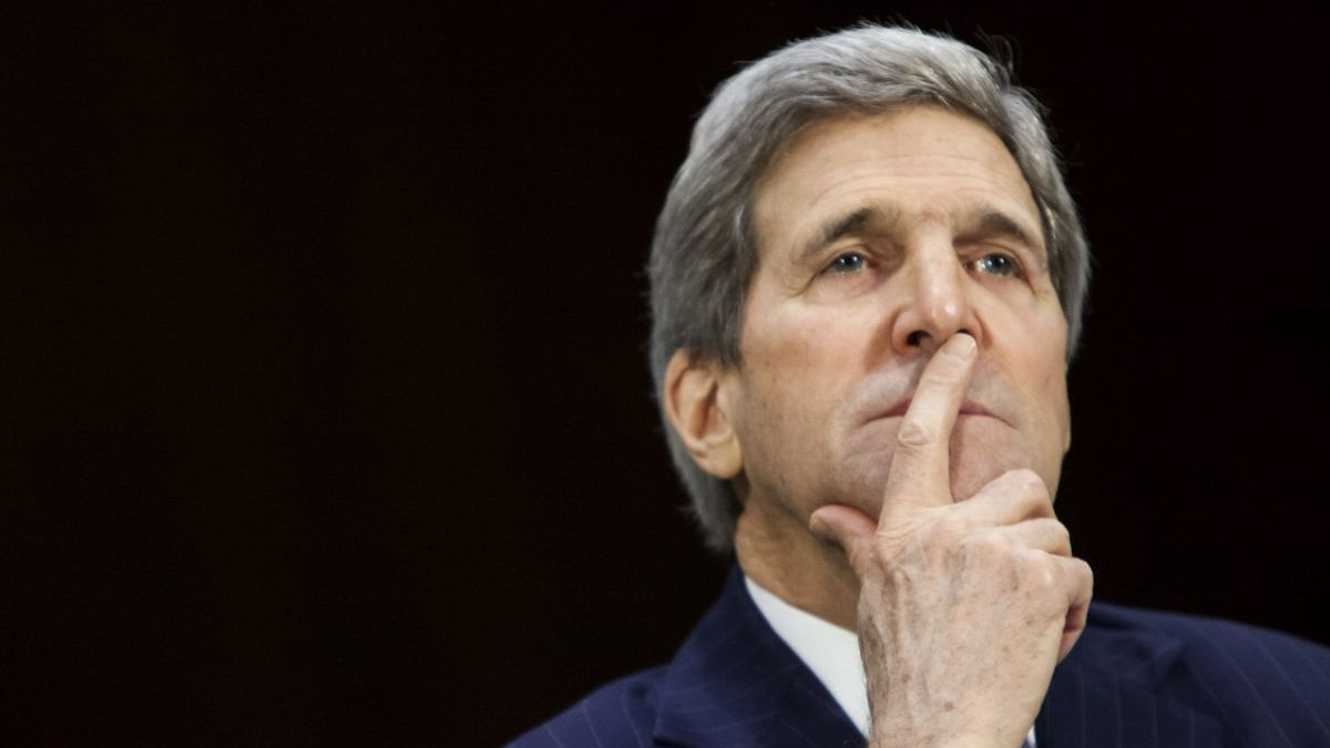 El Secretario de Estado de EEUU, John Kerry. (Getty)