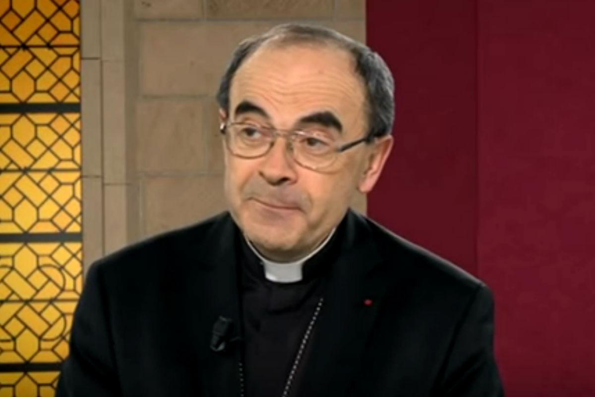 Imagen del cardenal francés Philippe Barbarin.