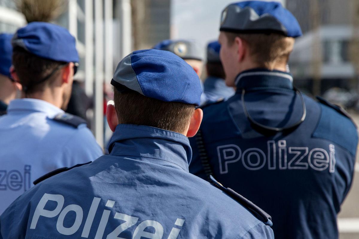 Imagen de la policía de Suiza. (Getty)