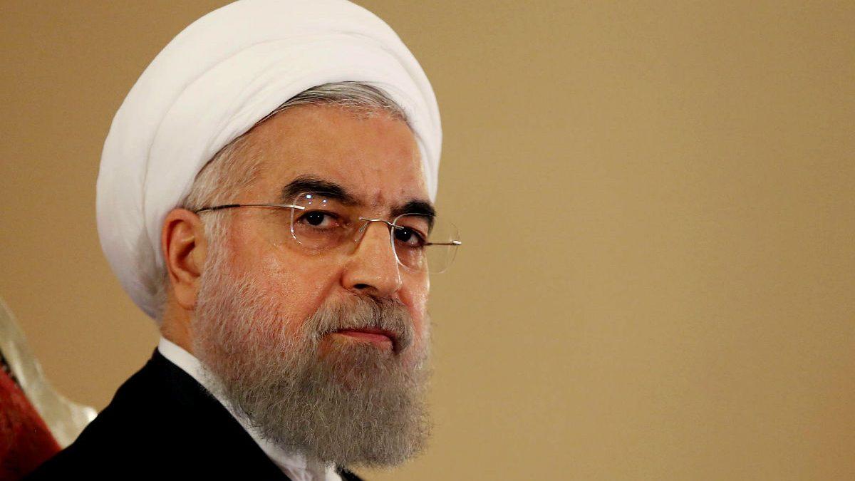 Imagen del presidente iraní Hassan Rouhani. (Getty)