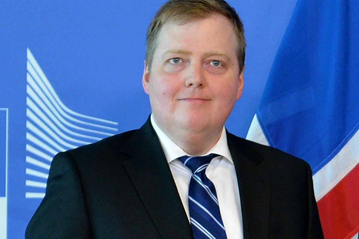 Imagen del primer ministro Sigmundur Gunnlaugsson. (Getty)