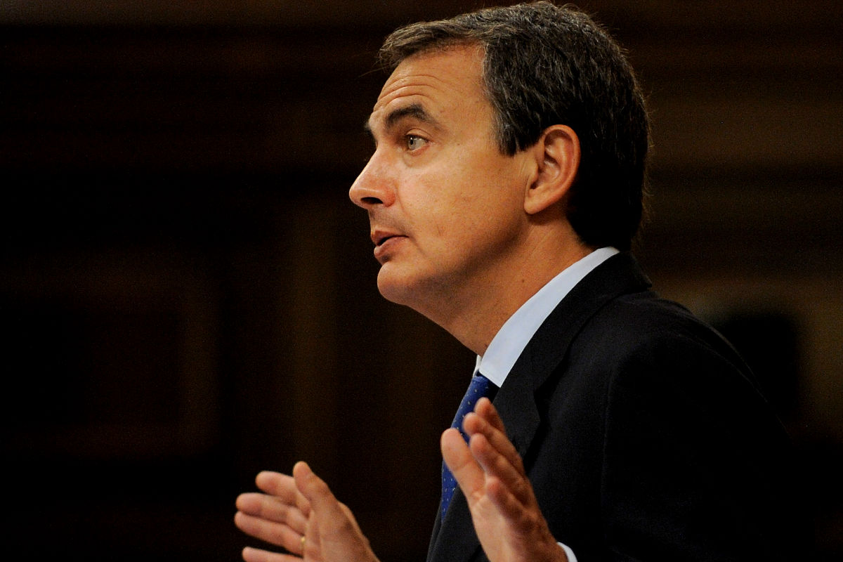 Imagen del ex presidente del Gobierno José Luis Rodríguez Zapatero. (Getty)