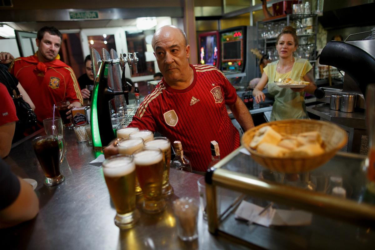 Bar de Madrid (Foto: GETTY).