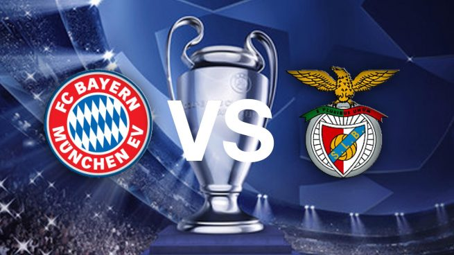 Bayern Múnich vs Benfica