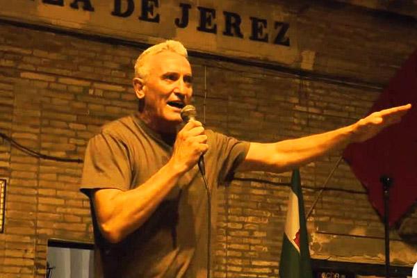 Diego Cañamero ha sido detenido.