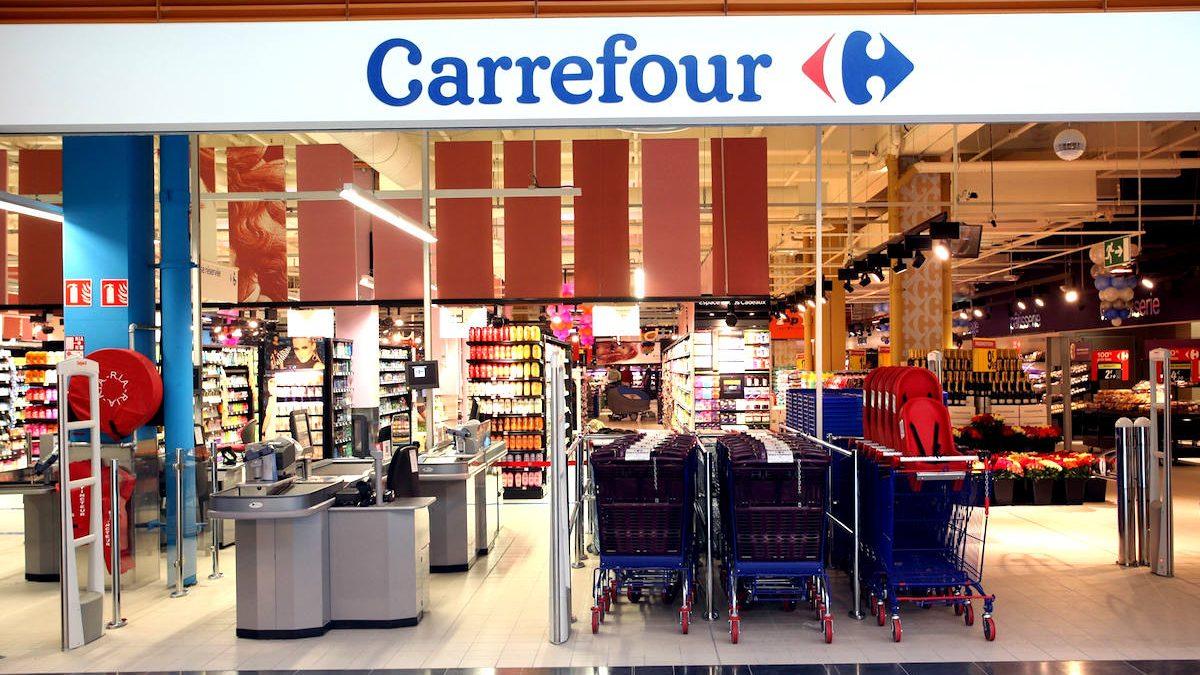 Un supermercado Carrefour.