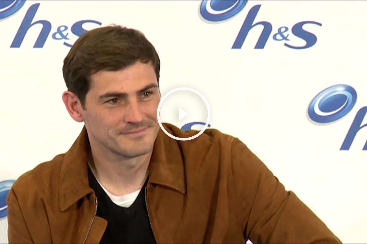 Iker Casillas, en un acto en Madrid.