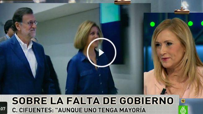 """Cristina Cifuentes: """"Cuando uno no busca las cosas, a veces estas llegan"""""""
