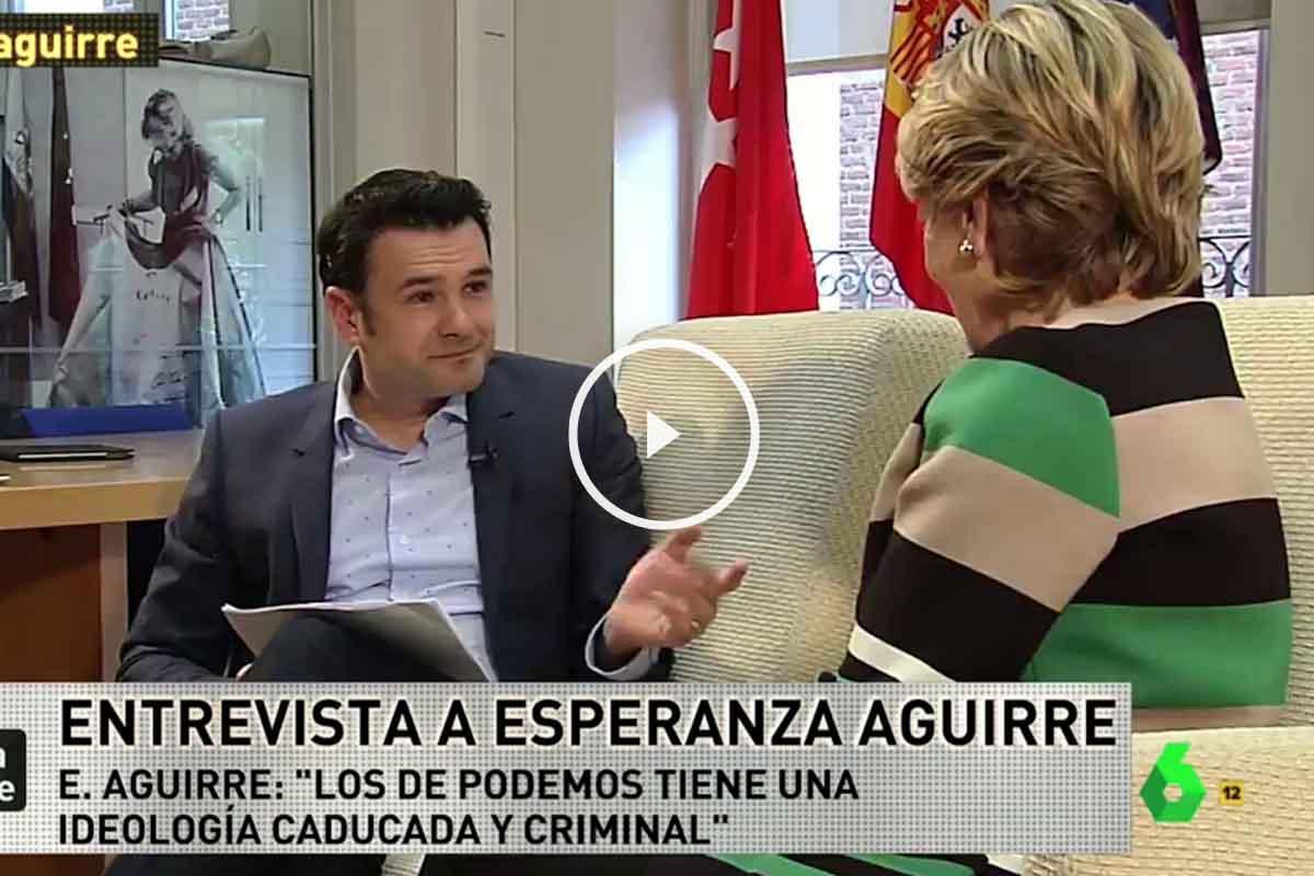 Esperanza Aguirre en La Sexta Noche