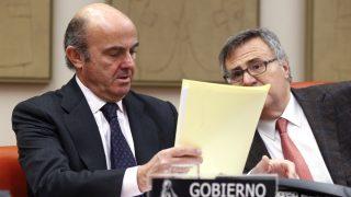 El minstro de Economía en funciones y titular de la cartera de Industria, Luis de Guindos (Foto: EFE).