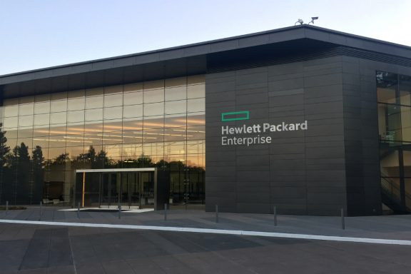 Hewlett-Packard Enterprise.