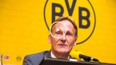 Hans Joachim Watzke, director ejectutivo del Borussia Dortmund. (AFP)