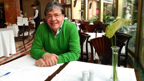 Carlos Holmes Trujillo, durante una entrevista con OKDIARIO en Madrid. (ADP)