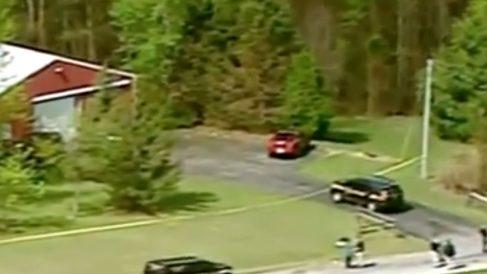 Imagen del lugar donde se han producido los múltiples asesinatos en Ohio.