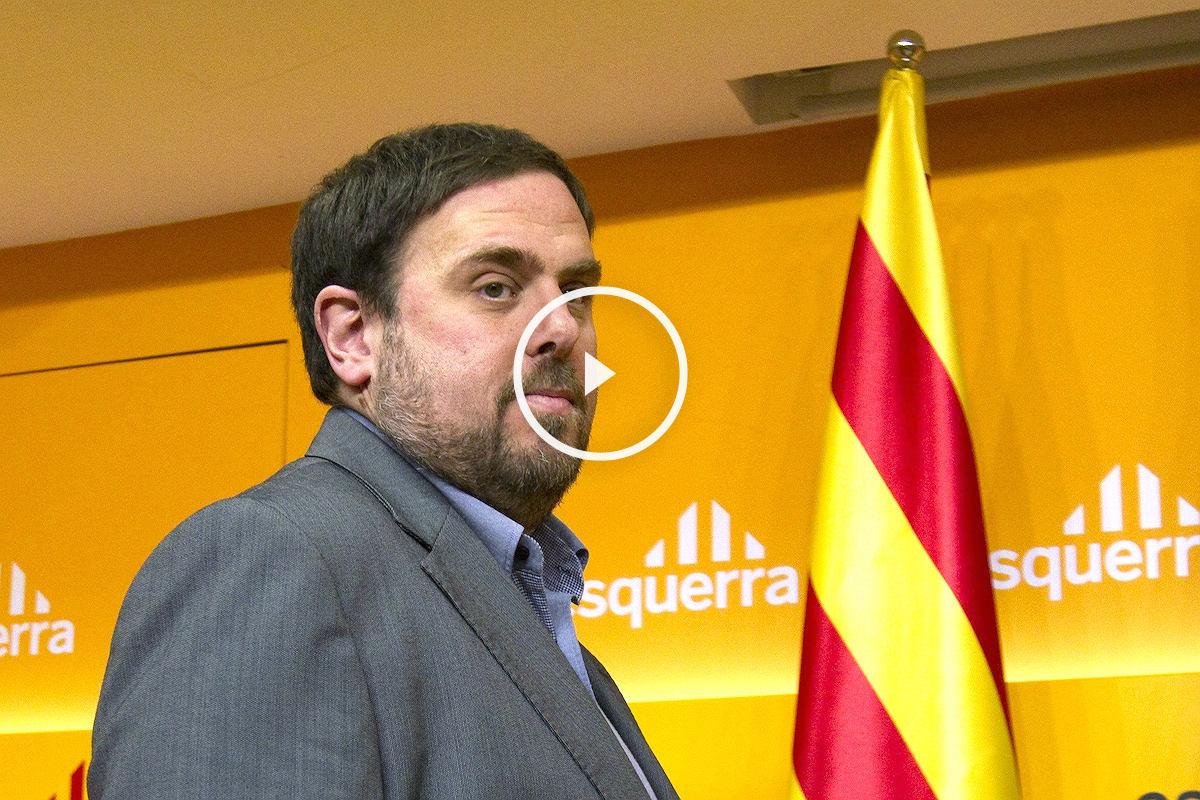 El presidente de Esquerra Republicana de Catalunya (ERC), Oriol Junqueras. (Foto: EFE)