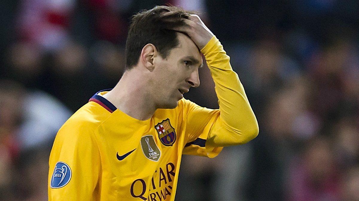Messi, pata esencial de la MSN, tiene una cuenta pendiente con la Copa. (Getty)
