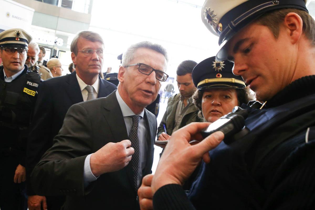 El ministro de Interior germano Thomas de Maiziere (Foto: Reuters)