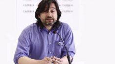 El diputado de Podemos Rafael Mayoral. (Foto: EFE)