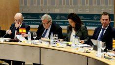 Cristóbal Montoro en el Consejo de Política Fiscal y Financiera (Foto: EFE).